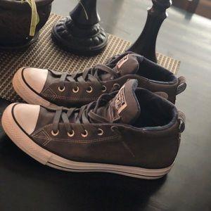 Converse slip on high tops